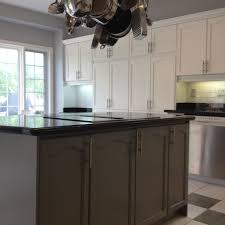 how to refinish cabinets with paint inspiring spray painted oak kitchen cabinet refinishing painting of