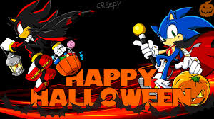 halloween anime background wallpaper sonic and shadow halloween by haalyle on deviantart