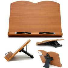 book reading stand for desk book stand portable wooden reading recipe cookbook desk music holder