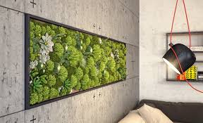 indoor wall garden indoor living wall ideas