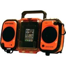 Ecoxgear Rugged And Waterproof Stereo Boombox Grace Digital Gdi Aq2si60 Ecoxgear Rugged And Waterproof Stereo