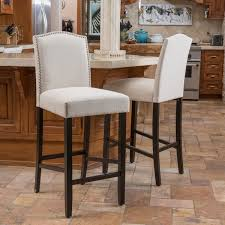 bar stool pics logan 30 inch fabric backed barstool by christopher knight home