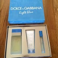 dolce and gabbana light blue gift set d g light blue gift set edt 3 4 oz by dolce gabbana for women 3