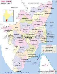 tamil nadu map nadu district map
