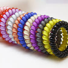 rubber bands rings images 10pcs elastic hair rings telephone wire rubber band silicone hair jpg
