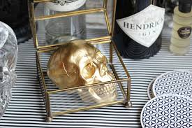 Skull Decorations For The Home 60 Easy Halloween Crafts Best Diy Halloween Craft Ideas For Your