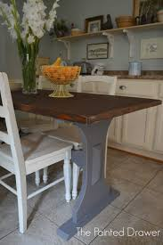 Driftwood Kitchen Table Paint Color Highlight General Finishes Driftwood
