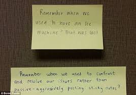 hilarious passive aggressive office notes that definitely cause