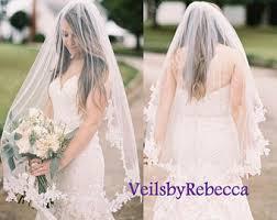 bridal veil wedding veils etsy