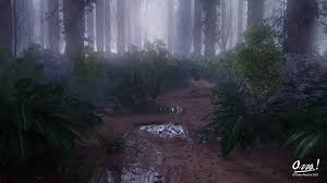 forest render aaron newton 3d artist programming professional blog archive