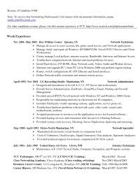 Sample Resume For Hardware And Networking For Fresher 100 Computer Hardware And Networking Resume Sles Best