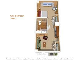 floor plans suites u0026 studios sunrise senior living