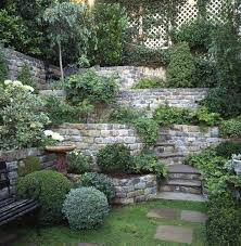 Terraced Retaining Wall Ideas by Breathtaking Natural Stone Walls In The Garden We Can Make This
