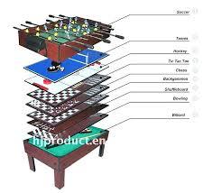 3 in 1 pool table air hockey 3 in 1 game table foosball pool and air hockey spiderhomee com