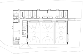 Dormitory Floor Plans by Gallery Of Lussy Sport Hall Virdis Architecture 17