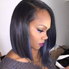 black hairstyles purple 21 simple bob hairstyles for thin hair easy bob haircuts