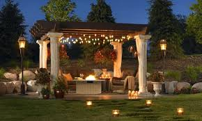Outdoor Patio Light Ideas Outdoor Lighting Ideas For Patios Image One Design Outdoor