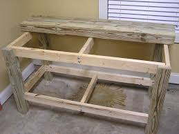 2 x 4 workbench how to build a super simple bench family handyman