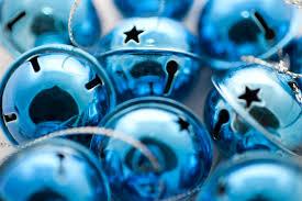 free stock photo 6806 shiny blue jingle bells freeimageslive
