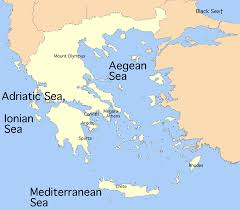 Corinth Greece Map by Untitled Document