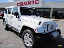 sahara jeep white 2011 jeep wrangler unlimited sahara 4x4 in bright white 566534