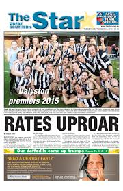 the great southern star september 15 2015 by the great southern