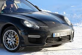 Porsche Panamera Facelift - spyshots porsche panamera facelift spotted with no camo