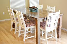 farmhouse dining chairs painted