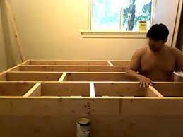 Building Platform Bed Building Platform Bed Frame Part 5 Of 10 Youtube