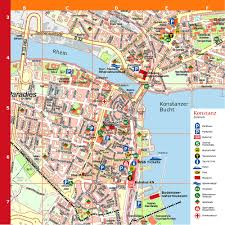 Map Of Munich Germany by Konstanz Tourist Map Konstanz Germany U2022 Mappery