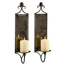 contemporary metal candle wall sconces u2022 wall sconces