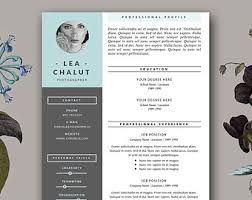 Creative Resumes Templates Free Resume Template Feminine Resume And Free Cover Letter