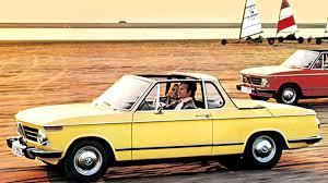 bmw 2002 cabriolet by baur e10 1967 75