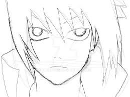 sasuke uchiha sketch by nlghtwolf on deviantart