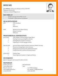 resume templates for job applications job application resume template resume applying job resume resume