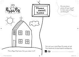 peppa pig sweet colouring scholastic kids u0027 club