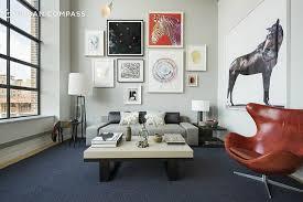 Interior Duplex Design With A Shamir Shah Designed Interior 5 25m West Chelsea Duplex