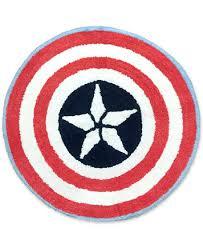 jay franco marvel captain america sides of war bath rug bathroom