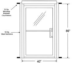 commercial exterior glass doors measure rough opening for commercial glass storefront doors