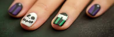 frightfully fun haunted mansion holiday nail art