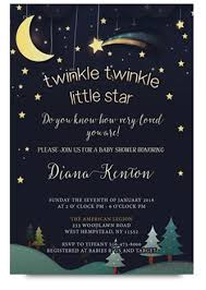 twinkle twinkle baby shower invitations twinkle baby shower invitation