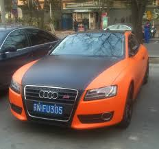 matte audi s5 audi s5 coupe is matte orange matte black in china
