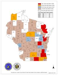 Wisconsin Counties Map by In The Grip Of Heroin Part 1 Trends In Wisconsin Wuwm