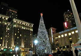christmas lights san francisco get in the spirit of the season with these events in san francisco