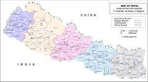 San Jose District Map by Map Of Nepal Nepal Pinterest Nepal