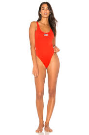 Flag One Piece Swimsuit Kendall Kylie X Revolve Usa One Piece In Tomato Revolve
