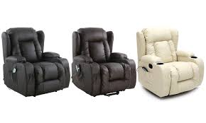 heated massage recliner chair groupon