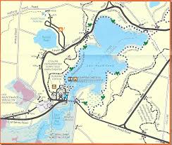 Harbor College Map Hiking Trails In Myles Standish State Forest