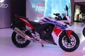 cbr motorcycle price in india honda cbr500r showcased no signs of india launch pics u0026 details