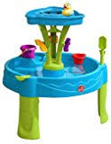 step 2 rain showers splash pond water table amazon com step2 rain showers splash pond water table playset toys